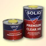 Лак SOLID HS 2+1 Premium Clear (1л+0,5л) КОМПЛЕКТ